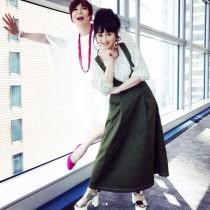 【エンタがビタミン♪】ミッツ・マングローブ&浅香唯、身長差30cmの2ショット 「加賀まりこさん?」の声も