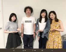 【エンタがビタミン♪】武田梨奈、奥田民生ライブに登場 「可愛い」後輩を入れて記念写真