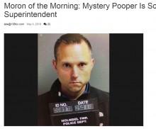 【海外発!Breaking News】校庭に排便して去っていく謎の男、なんと近隣学区の教育長だった(米)