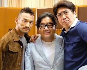 【エンタがビタミン♪】中田英寿、秋元康、石橋貴明 3ショットに「それぞれの世界のレジェンド!」の声