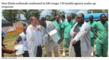 【海外発!Breaking News】また新たなアウトブレーク! コンゴ民主共和国で複数名のエボラ出血熱患者