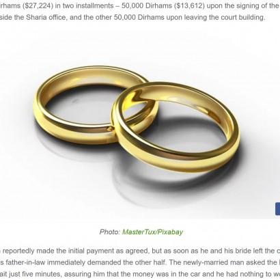 【海外発!Breaking News】史上最短か ドバイのカップル、挙式後わずか15分で離婚