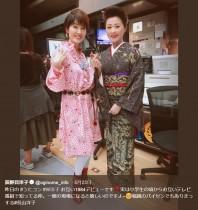 """【エンタがビタミン♪】荻野目洋子&長山洋子 """"W洋子""""の同期ショットに「あの頃が蘇る」の声"""