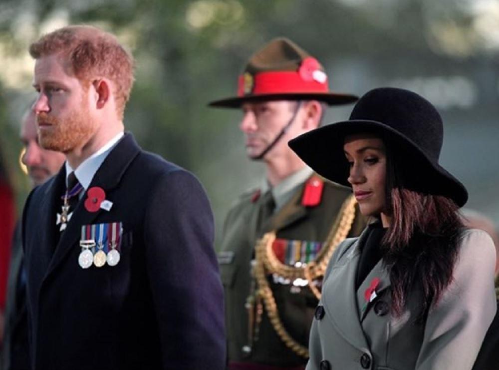 新婚旅行は公務の後に…(画像は『Kensington Palace 2018年4月25日付Instagram「On #ANZACDay we remember the servicemen and women of the Australian and New Zealand Army Corps who have served their nation in times of war.」(PA)』のスクリーンショット)