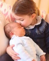 【イタすぎるセレブ達】シャーロット王女&ルイ王子の最新写真が公開 撮影はキャサリン妃