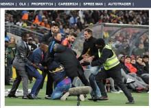 【海外発!Breaking News】FCバルセロナ、南ア・チームと対戦 観客9万人超が「夢の対決」に大興奮