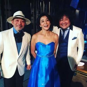 古澤巌、高嶋ちさ子、葉加瀬太郎(画像は『Chisako Takashima 2018年5月14日付Instagram「気のせいかな?お気に入りの焼肉屋さんのオブジェに似てる」』のスクリーンショット)