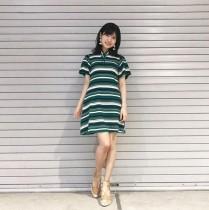 """【エンタがビタミン♪】AKB48谷口めぐ、ミニワンピの""""めぐコーデ""""に「ヘッド様、相変わらず美脚」の声"""