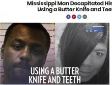 【海外発!Breaking News】バターナイフで母を斬首した29歳息子「歯と手も使って頭部を切り離した」(米)