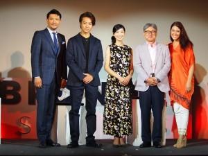 『Branded Shorts 2018』スペシャルトークイベント&授賞式の第1部『ショートフィルムの魅力』にて