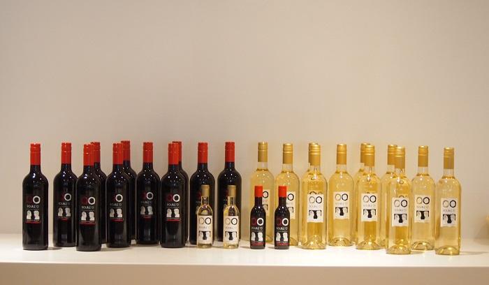 "JALオリジナルワイン「DOUBLE ""O"" 」"