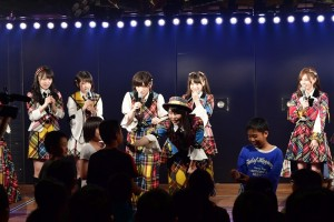 【エンタがビタミン♪】横山由依&峯岸みなみ、小学生からの「夢」に関する質問に回答 AKB48初の修学旅行生向け公演
