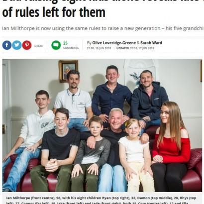 【海外発!Breaking News】亡き妻が残した「15のリスト」を守り、8人の子を育ててきたシングルファーザー(英)