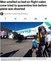 【海外発!Breaking News】男性乗客が放つ悪臭で周りの乗客が体調不良に オランダの旅客機が緊急着陸