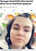 【海外発!Breaking News】「ヨリを戻したいのに」元カレを逆恨みした18歳女が虚偽の性的暴行被害(英)