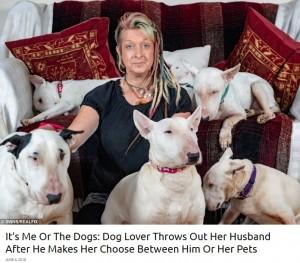 """【海外発!Breaking News】""""犬か自分か""""夫から選択を迫られた妻「犬を捨てる選択肢はない」(英)"""