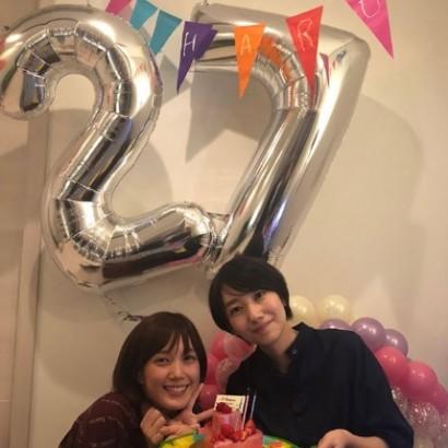 【エンタがビタミン♪】波瑠、27歳誕生日を本田翼がお祝い「嬉しい限りです」