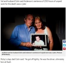【海外発!Breaking News】仮免練習者の運転で息子が事故死 加害者の罪の軽さに激怒の両親(英)