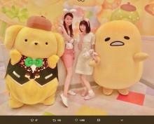 【エンタがビタミン♪】市川美織がポムポムプリンやぐでたまとコラボ 「レモンちゃんかわいすぎ」の声