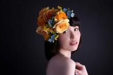 【エンタがビタミン♪】尼神インター誠子、生花を頭に飾り大変身 「ほんこん」から「道重さゆみ」へ