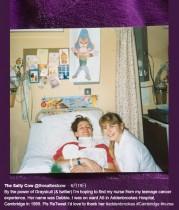 【海外発!Breaking News】14歳で余命5年の告知を受けた女性 29年後に大好きだった看護師と再会(英)