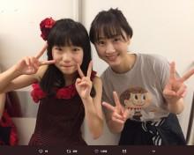 【エンタがビタミン♪】松井玲奈、SKE48倉島杏実から誕生日を祝福され「私も会いたいよー」