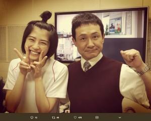 【エンタがビタミン♪】ドラマ『チア☆ダン』で佐久間由衣演じる桜沢麻子の父親役、木下ほうか「先にお詫びしておきます」