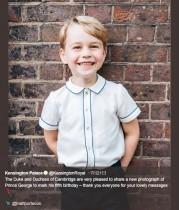 【イタすぎるセレブ達】英ジョージ王子が5歳に 「エリザベス女王にソックリ!」の声も