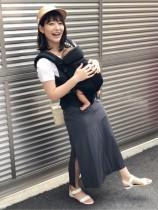【エンタがビタミン♪】吉田明世アナ、生後2か月の娘の育児に奮闘中「ご飯は立ち食い」「無表情でオムツを替えてる」