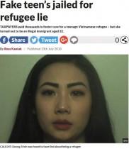 【海外発!Breaking News】「人身売買から逃げてきた」身分や年齢を偽った不法滞在の女に懲役8か月(英)