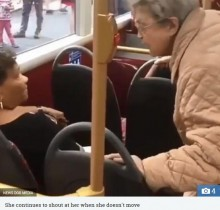 【海外発!Breaking News】「そこは私の席、どきなさいよ!」英ロンドンバス車内で怒鳴る高齢女性<動画あり>
