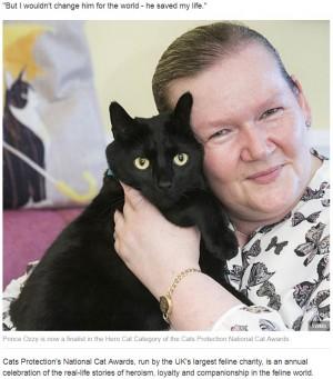 【海外発!Breaking News】飼い主が熟睡中に火災発生 叩き起こして命を救った猫(北アイルランド)