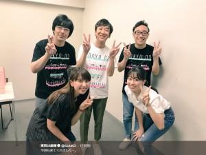【エンタがビタミン♪】ももクロ、東京03単独公演を激励 飯塚「今回も来てくれましたー」
