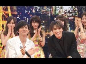 ひな壇前列で和む、城田優とジェジュン(画像は『Kim Jae Joong 金在中 ジェジュン 2018年7月26日付Instagram「楽しかったです☆」』のスクリーンショット)