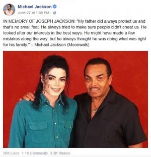【イタすぎるセレブ達・番外編】故マイケル・ジャクソンの父、息子と同じ墓地に埋葬される