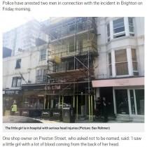 【海外発!Breaking News】工事現場から角材落下で3歳児が重傷 作業員2名が逮捕(英)