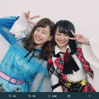 【エンタがビタミン♪】AKB48向井地美音『ミラクル9』の活躍に大家志津香が興奮「すごい! すごい!!」
