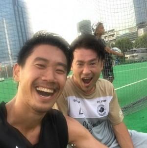 【エンタがビタミン♪】ナオト・インティライミ、帰国した香川真司選手とフットサル「どんだけサッカー好きなんだ、シンジ香川!」
