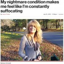 【海外発!Breaking News】「まるでストローで呼吸しているよう」エンプティ・ノーズ症候群の苦悩を明かした女性(米)