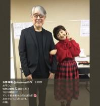 【エンタがビタミン♪】松本隆の誕生日を2ショットで祝福 太田裕美「おめでとうございます。の朝」
