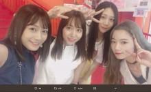 【エンタがビタミン♪】元SKE48高田志織、現役メンバー3人と遭遇「みなるんさんちっさくて可愛かった!」