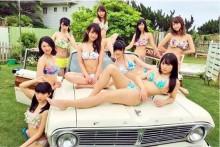 【エンタがビタミン♪】スパガ、9人体制で新曲『ばぶりんスカッシュ!』 MVの水着パフォーマンスが圧巻
