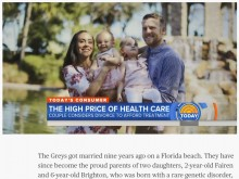 【海外発!Breaking News】障害児を抱える夫婦、高額な医療費で「もう離婚するしか手段がない」(米)