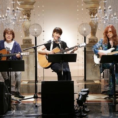 【エンタがビタミン♪】荻野目洋子、坂崎幸之助・高見沢俊彦とギター弾き語り「踊らない私を見て!」