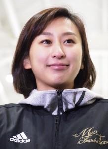 フィギュアスケーターの浅田舞