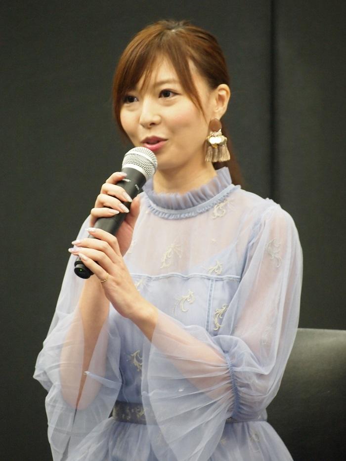 クシナダ姫を演じる折井あゆみ