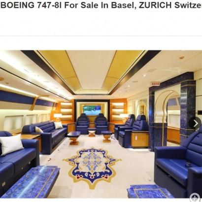 【海外発!Breaking News】「まるで空飛ぶホテル」 カタール王族所有の旅客機が売りに出される