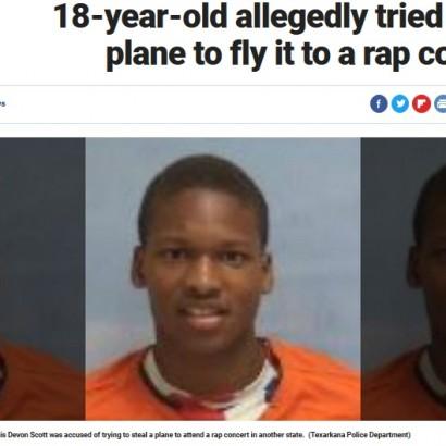 【海外発!Breaking News】「コンサートに行くため」滑走路に侵入、飛行機を盗もうとした18歳少年(米)
