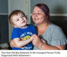 【海外発!Breaking News】不治の病を患う2歳児 「20歳までは生きられない」医師の宣告に母親は…(英)