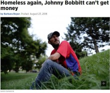 【海外発!Breaking News】ホームレス男性のために4500万円を集めたカップル「お金は渡せない」(米)